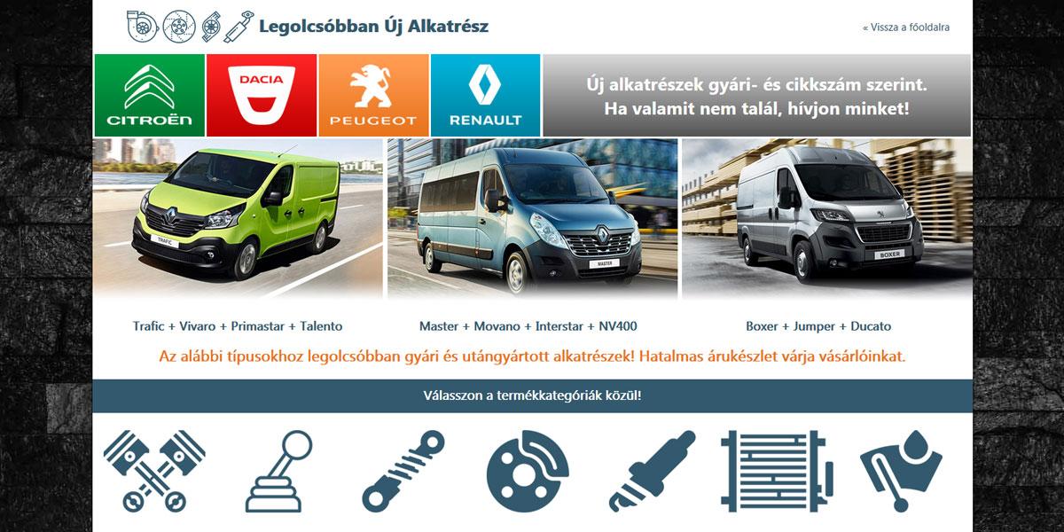 Legolcsóbban Új Alkatrész | www.legolcsobbanujalkatresz.hu
