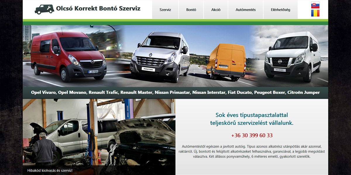 Olcsó Korrekt Bontó Szerviz | www.olcsokorrektbontoszerviz.hu