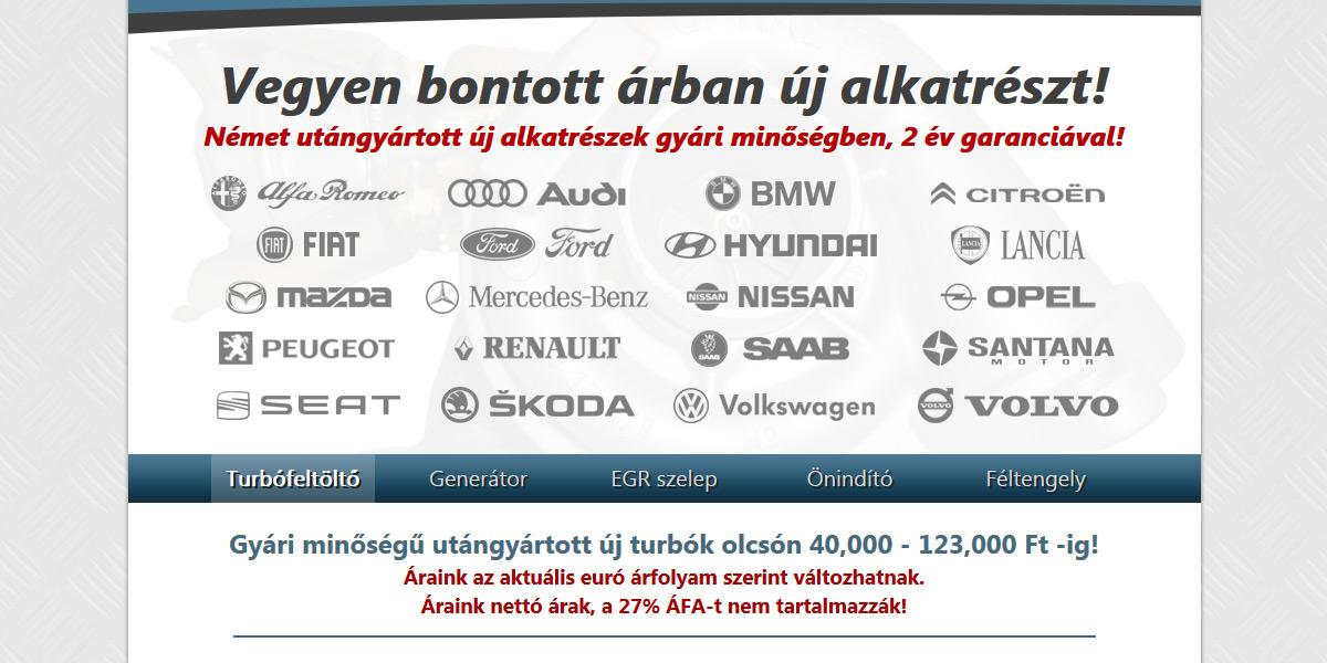 Bontott Árban Új Alkatrész | www.bontottarbanujalkatresz.hu